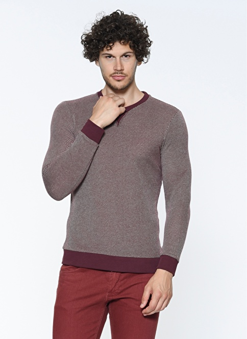 Mavi Sweatshirt Bordo